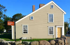 Saltbox Style - John Quincy Adams' Birthplace, Quincy, MA