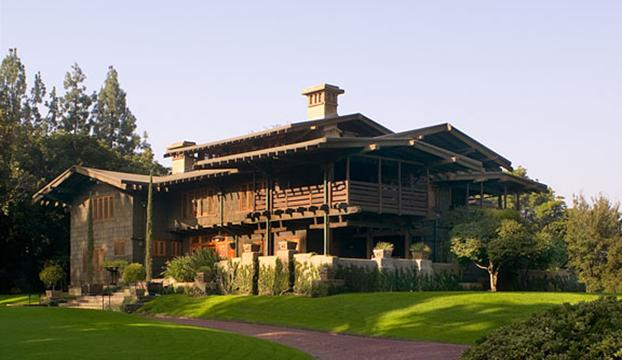 gamble house pasadena ca - Steamboat Gothic House Plans
